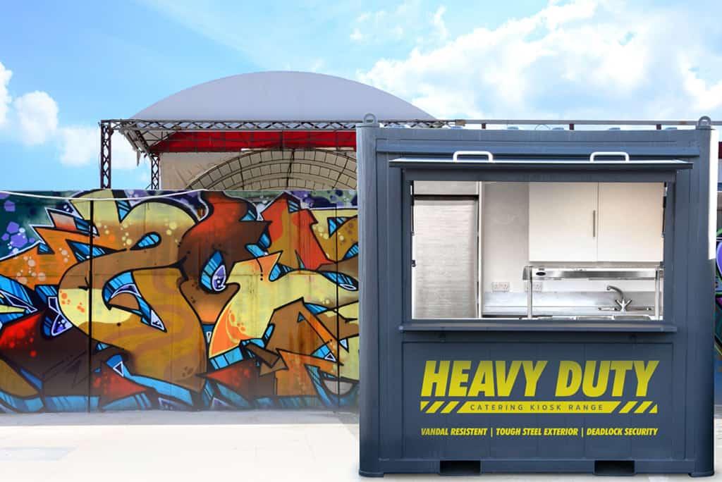 Secure Retail Merchandising Units (RMU's) kiosk anti vandal properties